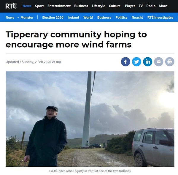 community power templederry rte news