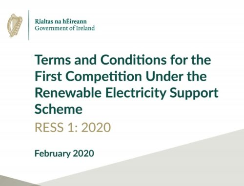 Terms & Conditions for Renewable Electricity Support Scheme (RESS) First Auction Published