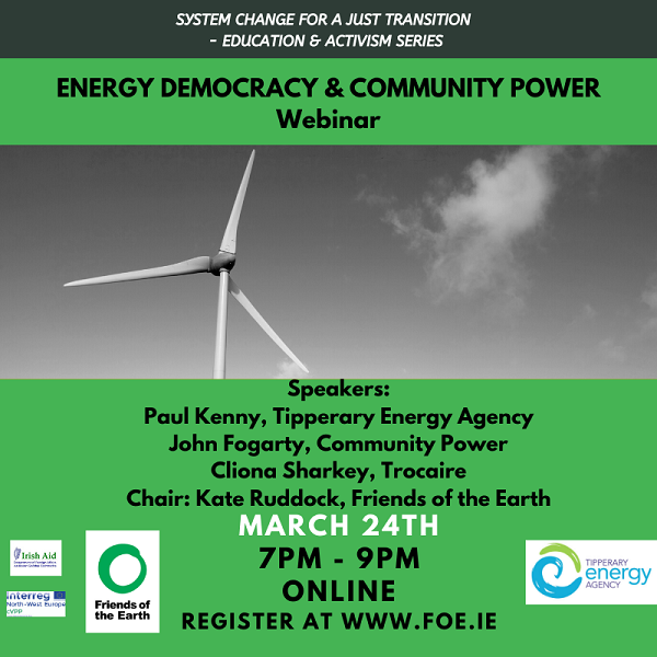 energy democracy and community power webinar