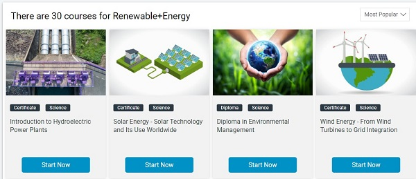 online renewable energy courses