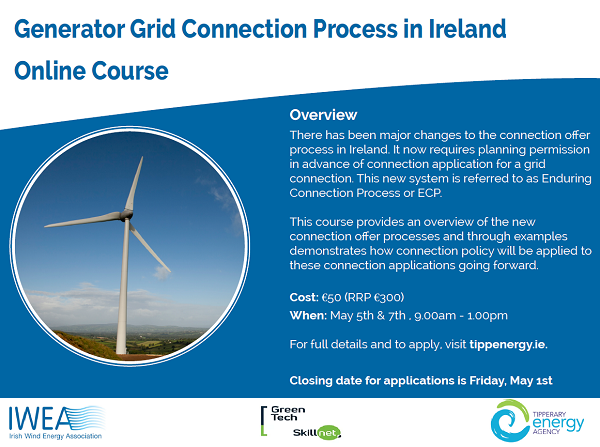 Generator Grid Connection Process in Ireland