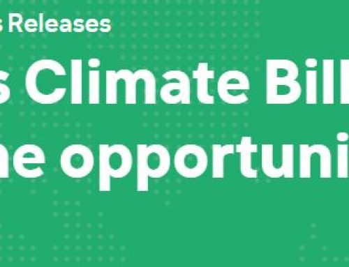 Climate Action Bill – A Sustainable Economy