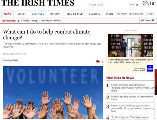 What can I do to help combat climate change? The Irish Times